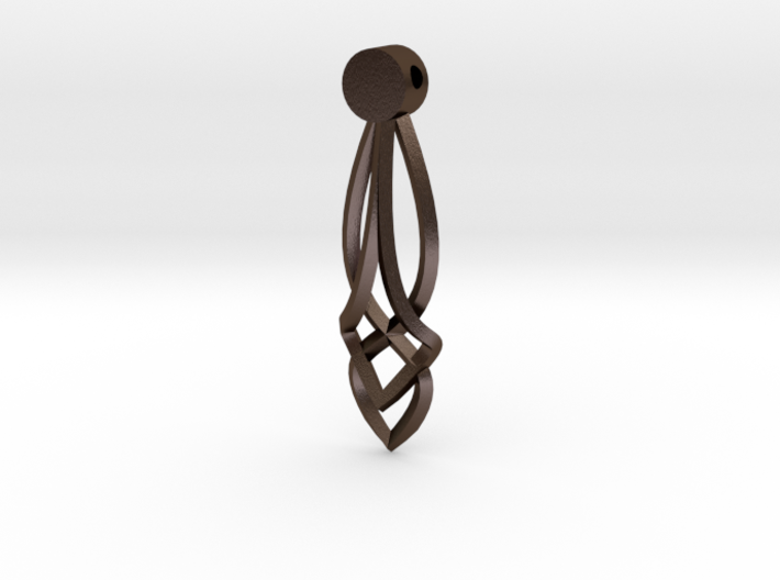Celtic Drop Pendant Design 3d printed
