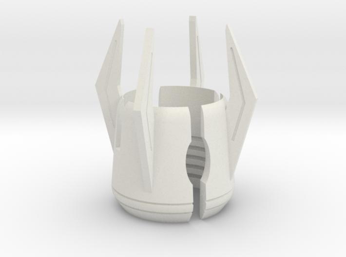 Emitter Shroud - Glaive 3d printed