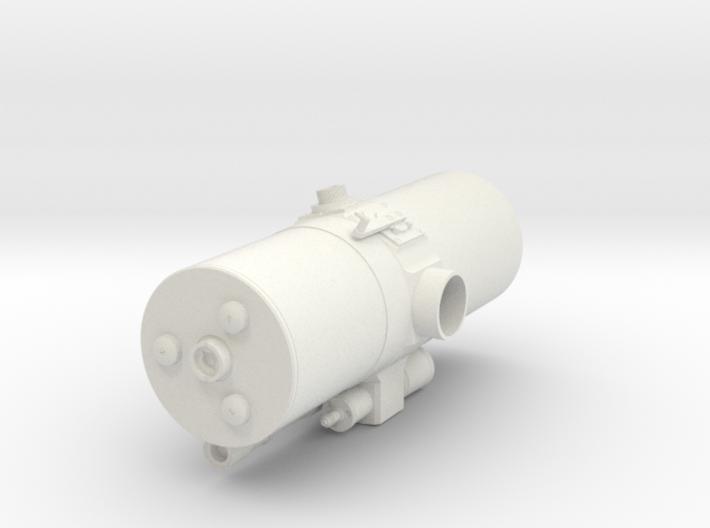 Geodimeter Model 6 - Scope 1/4 scale 3d printed