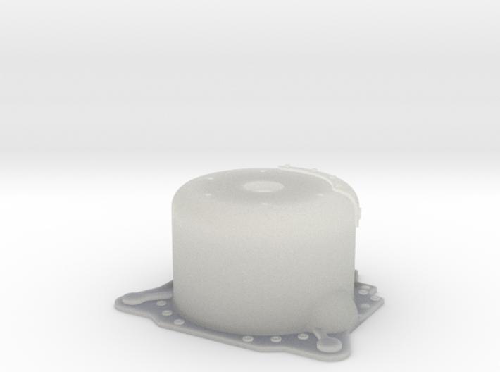 "1/25 Lenco 9.4"" Dp Bellhousing(With Starter Mnt) 3d printed"
