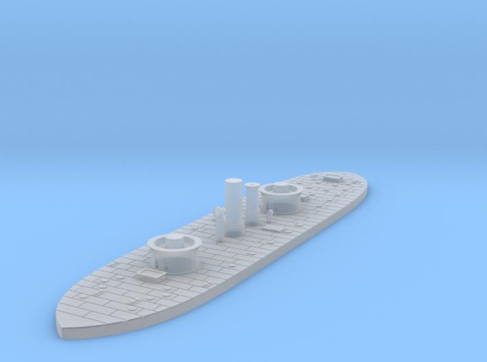 1/1000 USS Monadnock 3d printed