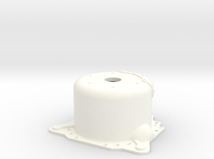 "1/12 Lenco 9.4"" Dp Bellhousing(With Starter Mnt) 3d printed"