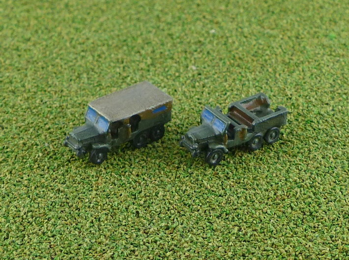 French Laffly S20TL Dragoon Truck 1/285 3d printed