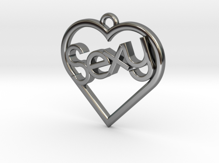"""Heart """"Sexy"""" 3d printed"""