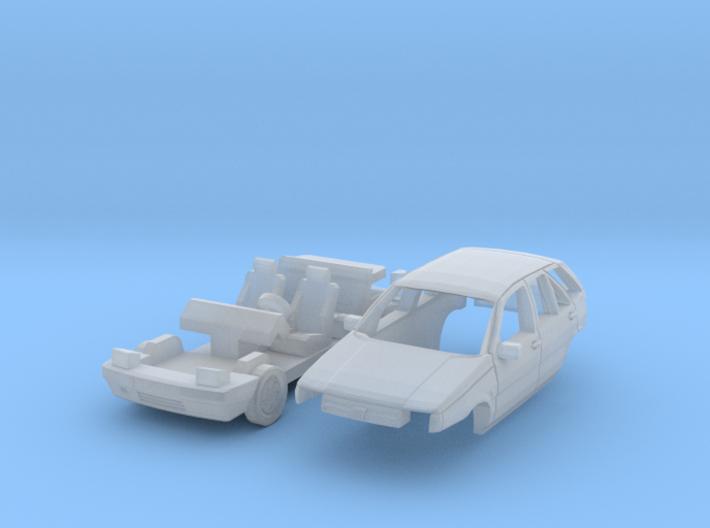 Fiat Tipo (N 1:160) 3d printed