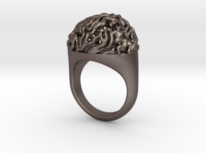 Brain Ring US13 3d printed