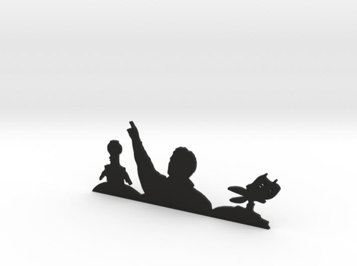 MST3K Sillhouette 3d printed
