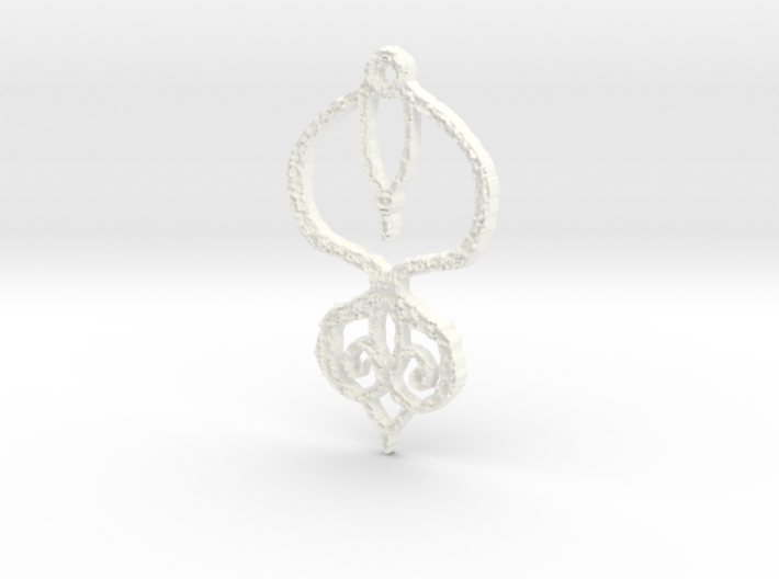 :Baby Lace II: Pendant 3d printed