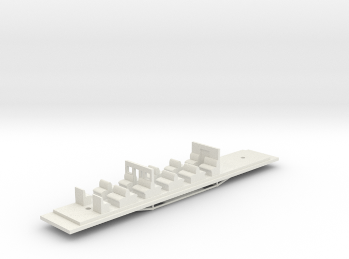 Victorian Railways BCPL Chassis 3d printed