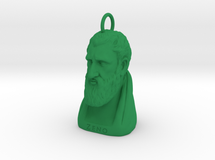 Zeno Keychain 2 inches tall 3d printed