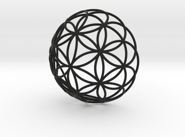 3D 200mm Half Orb of Life (3D Flower of Life)  3d printed
