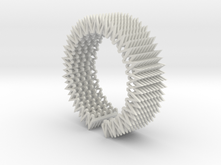 Spike Bracelet - Flexible Medium Size 3d printed