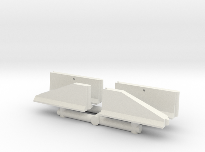 Jersey Barrier short set (x4) 1/35 3d printed