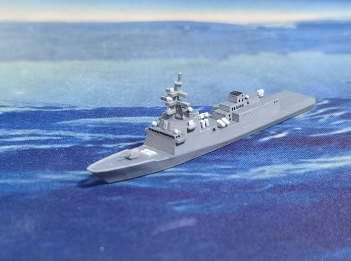 Constellation-class Frigate, 1/1800 3d printed Painted Sample