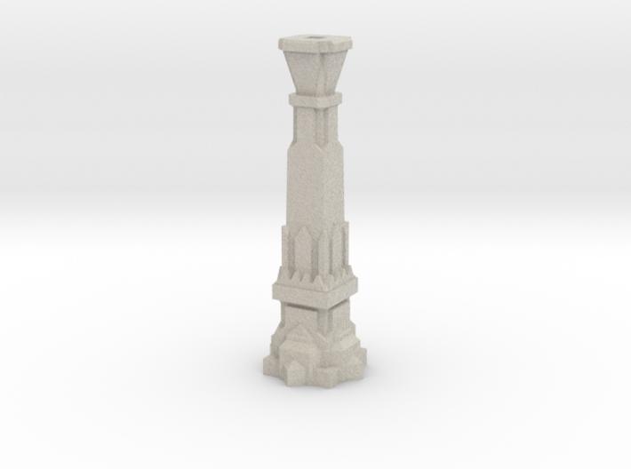 100mm Dwarven Pillar 3d printed