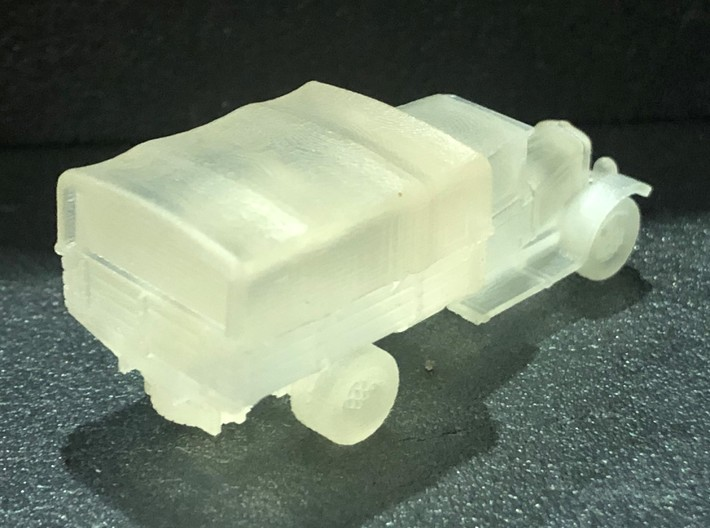 zis 5 (closed) scale 1/144 3d printed