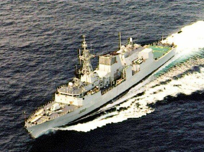 Nameplate HMCS Charlottetown 3d printed Halifax class frigate HMCS Charlottetown.