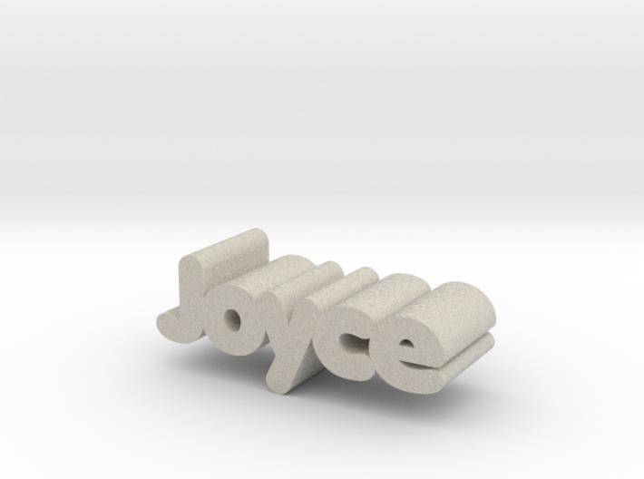 Joyce 3d printed