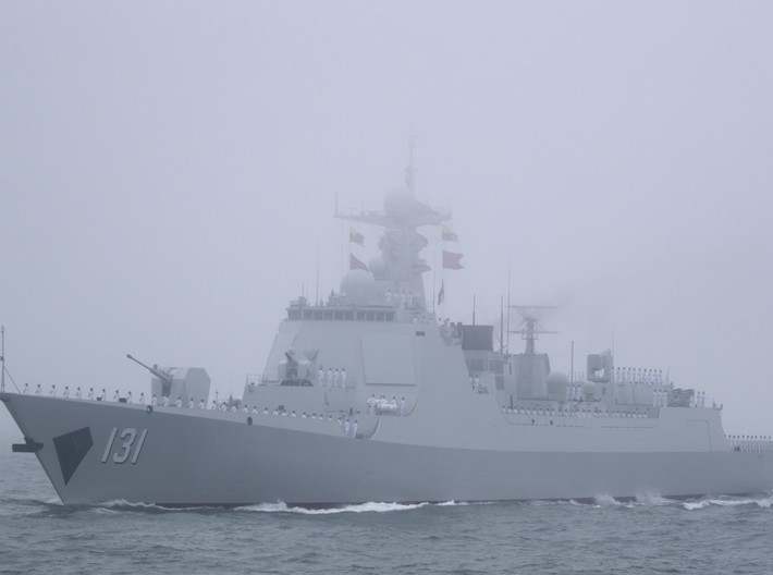 Nameplate Taiyuan 太原 (10 cm) 3d printed Type 052D destroyer Taiyuan.