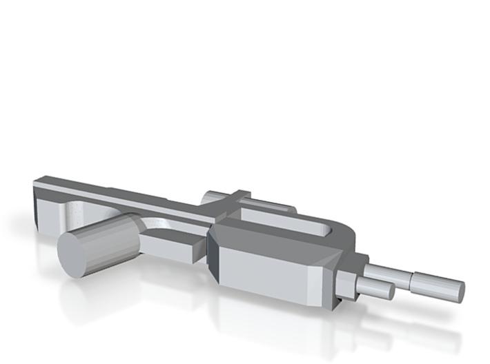 Battle Rifle 50 Model 3d printed
