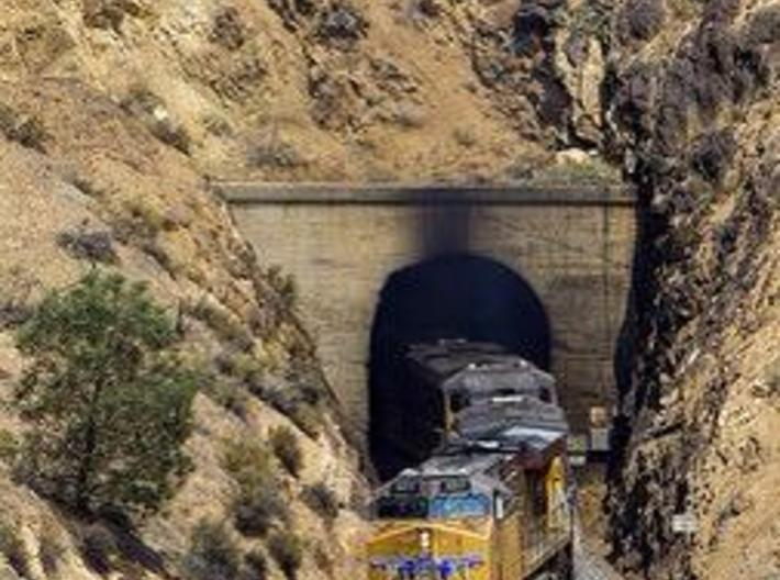 N-Scale Tehachapi Tunnel #10 - West 3d printed Prototype Photo