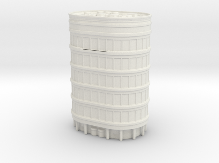 Oval Office Tower 1/1000 3d printed
