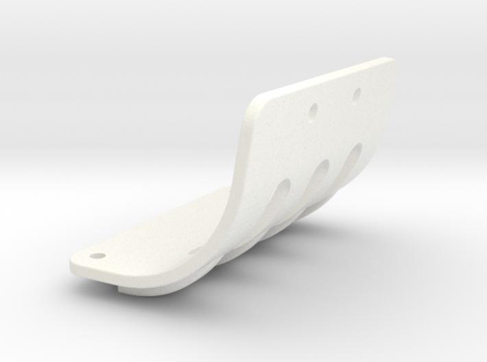 NIX63111 Motor mount brace for RC10 Graphite 3d printed