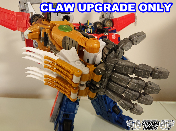 Cybertron Savage Claw Extension 3d printed