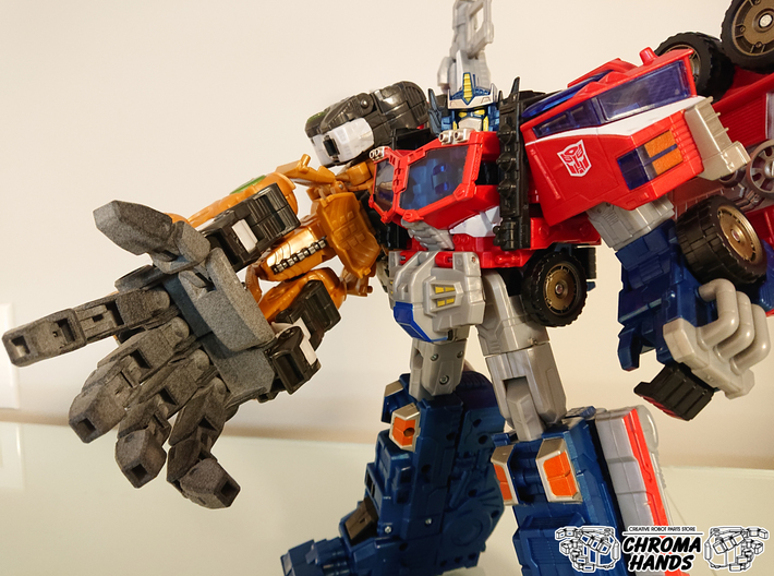 Cybertron Savage Claw Articulated Hand Upgrade 3d printed