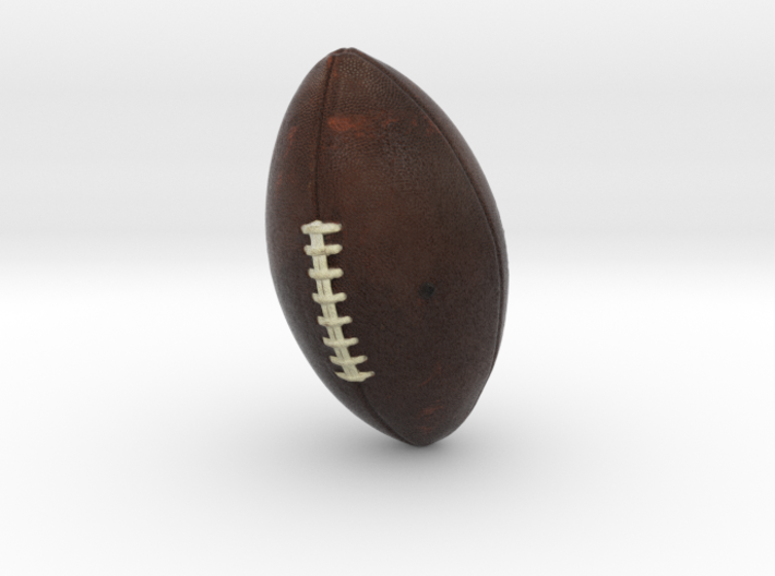 The American Football 3d printed