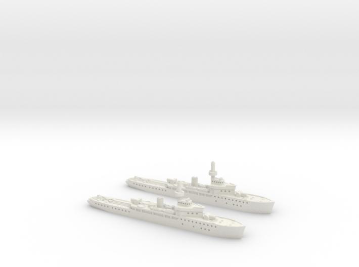 Amiral Murgescu 1/2400 x2 3d printed