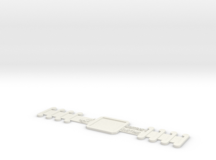 Customizable Surgical Mask Strap Extender 3d printed