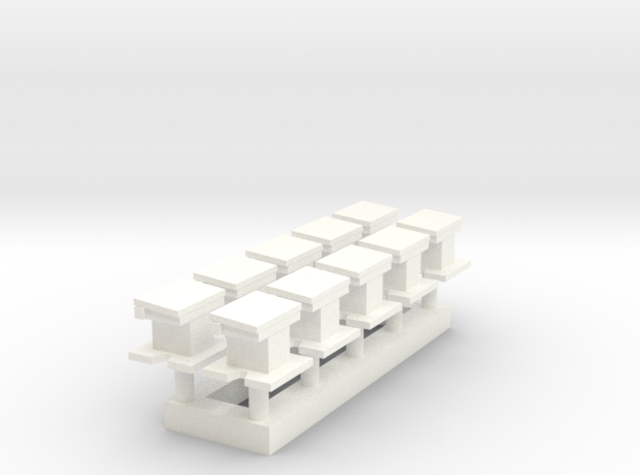 L-04 Point Heating Transformers (Pack of 10) 3d printed