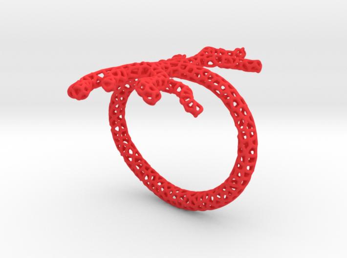Red Coral Bracelet 3d printed