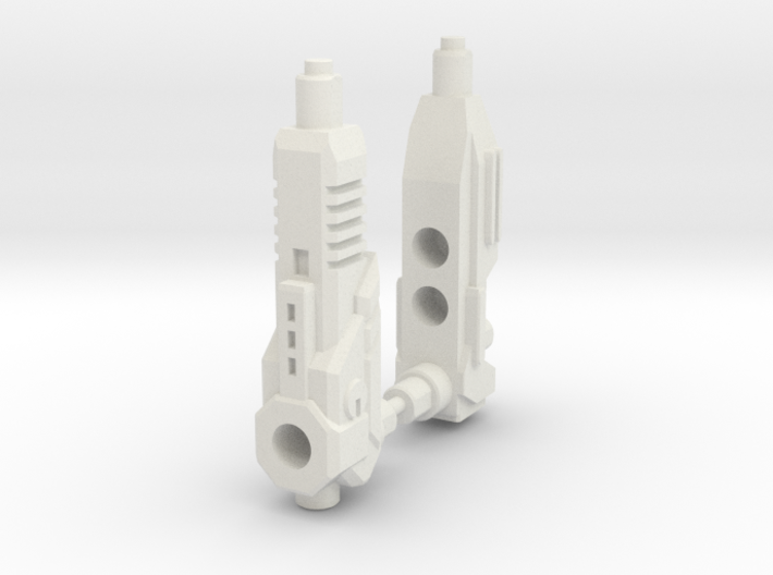 TF Combiner Wars Truck Cannon Adapter Set 3d printed