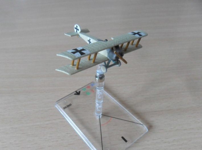 Fokker D.III 3d printed Photo and paint job by Dave 'flash' Fowler at wingsofwar.org
