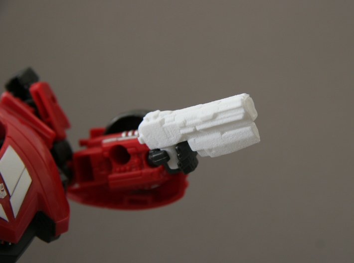 """SENTINEL"" Transformers Weapons Set (5mm post) 3d printed Generations FOC Sideswipe"