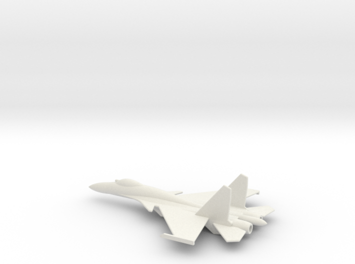 Su-33 Naval Flanker D 1/285 scale 3d printed