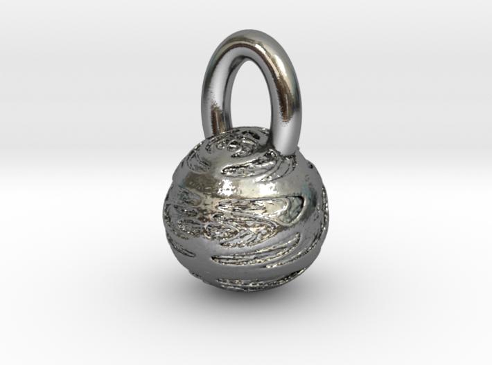 Planet pendant  3d printed