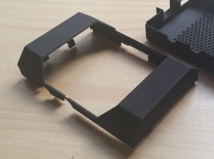 Pi Case 3d printed The lid of the Raspberry Pi case