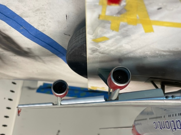 1/144 Scale Boeing 747 Leading Edge Flaps 3d printed