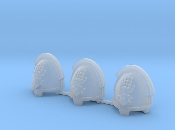 Steel Handed Warriors Bladeguards pads x3 R #2 3d printed