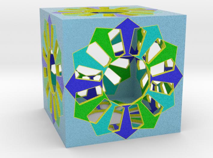 cube coloré 2 3d printed