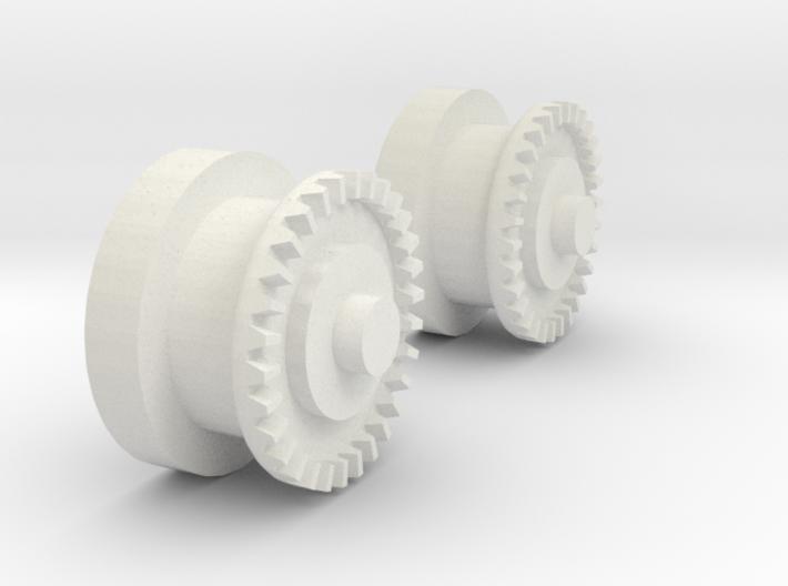 Imperial Shuttle Repair Kit Wing Gears 3d printed