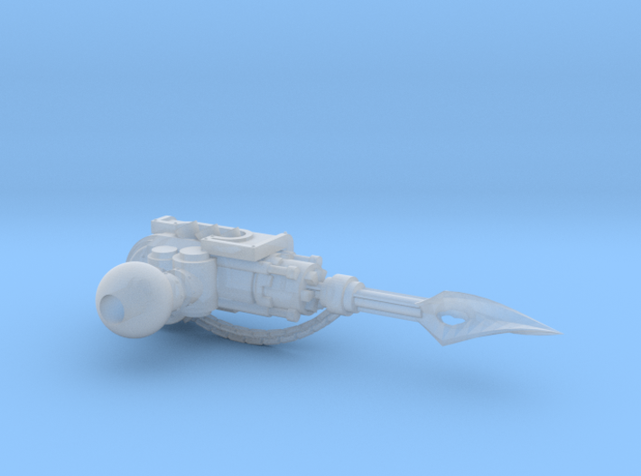 Lightning spear for Proteus-pattern Warhound 3d printed