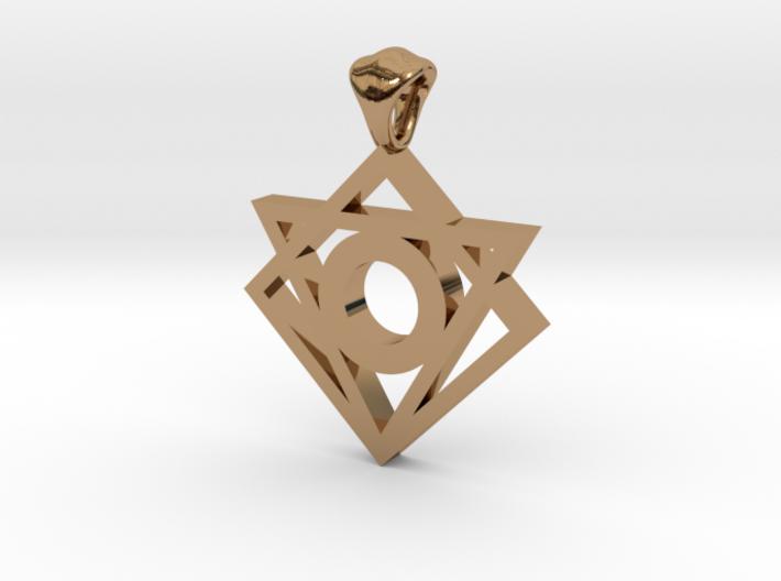 Iconic Symbol Pendant 3d printed