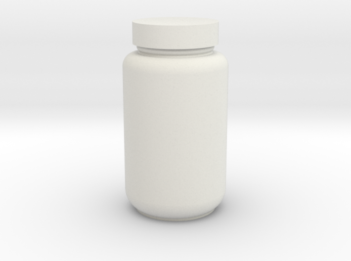 Nutrition Bottle 3d printed