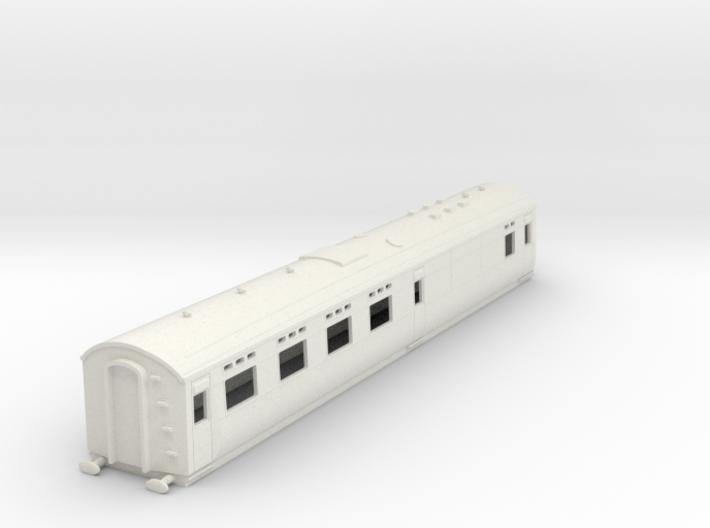 o-76-sr-maunsell-d2666-buffet-coach 3d printed