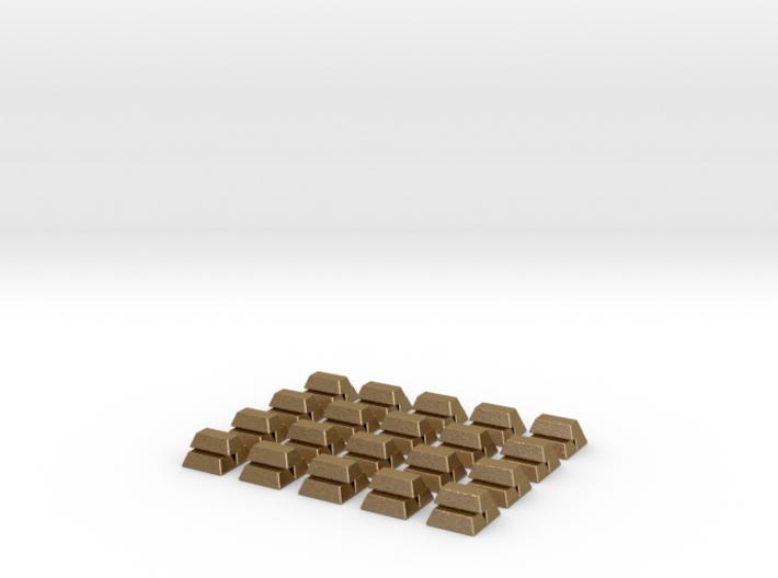 Gold Bars for Catan Indiana & Ohio Scenario 3d printed