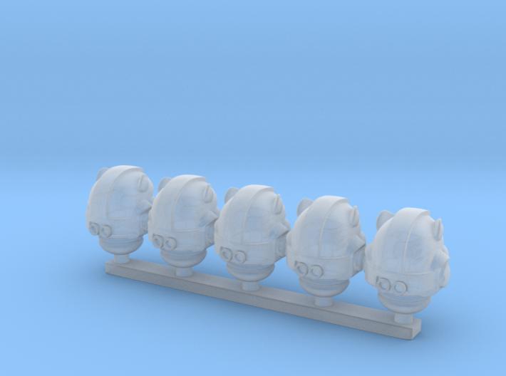 space helmet mk-wildcat x5 3d printed